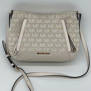 Michael Kors Evie Crossbody Light Cream Bag